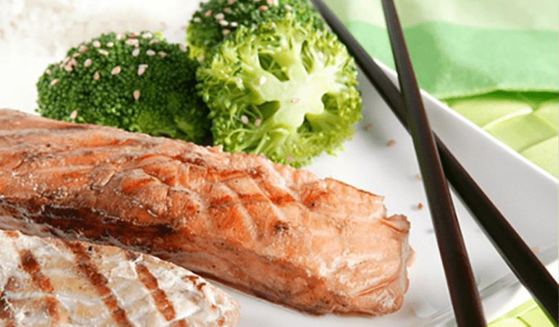 Teriyaki de salmón